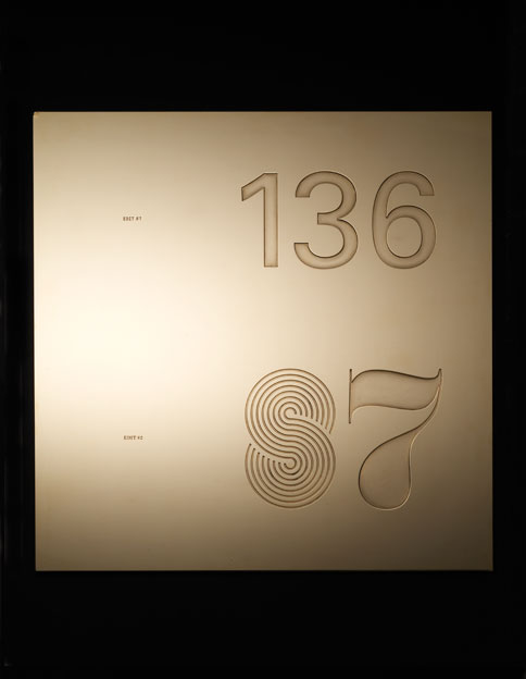 Jonathan Ellery, art, Unrest, machined brass, 2007, Browns Design and Browns Editions