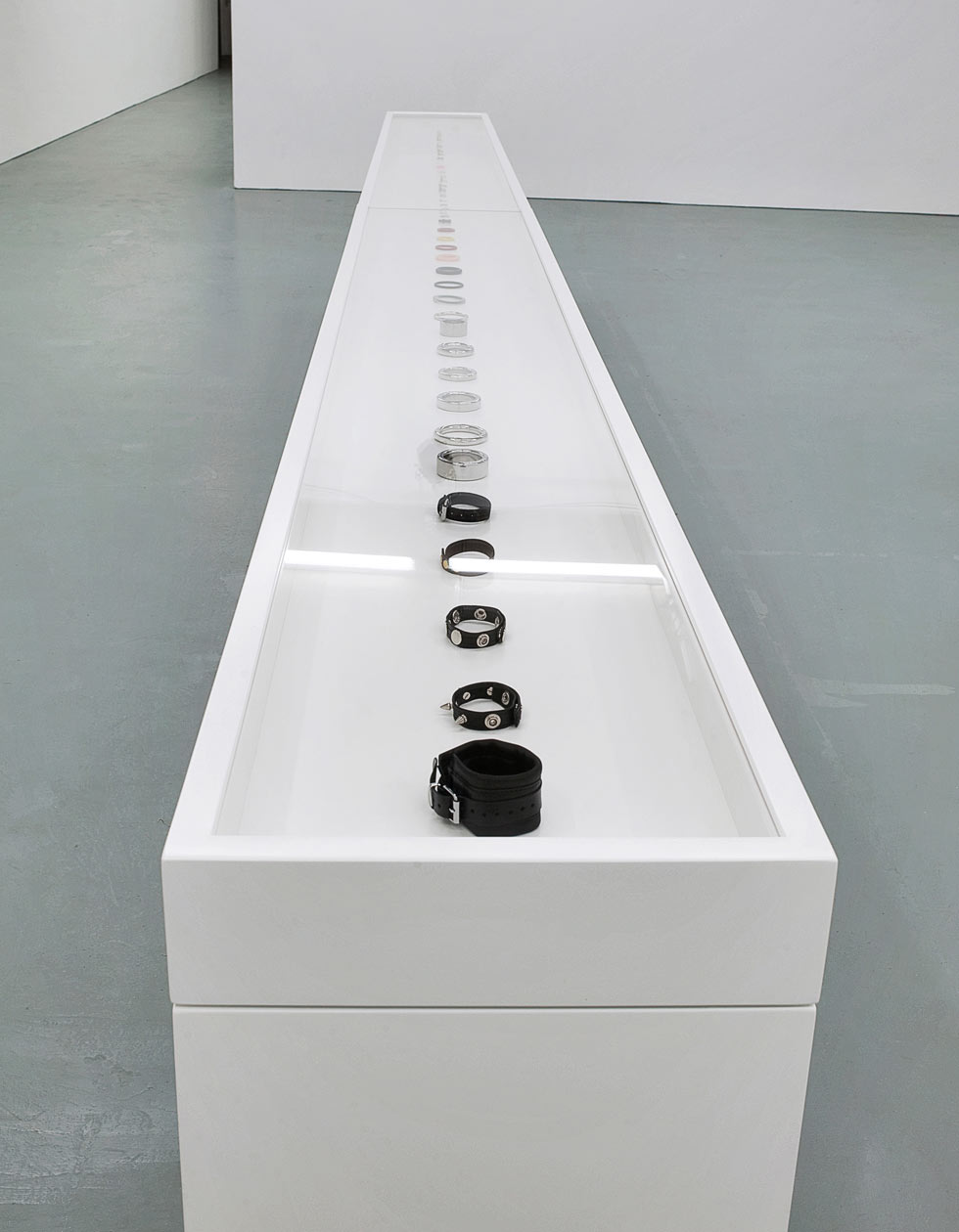 Jonathan Ellery, art, ring cabinet, The Human Condition, 2011, exhibition, Browns Editions and Browns Design